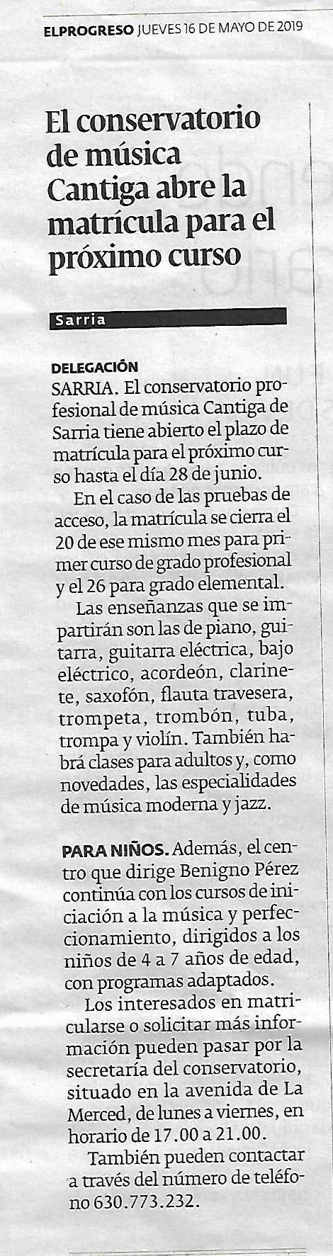 El Progreso 16-05-2019